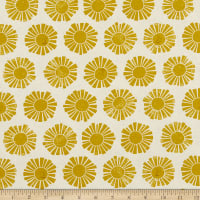 Cotton+Steel By the Seaside Sunshine Unbleached Yellow