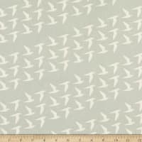 Cotton+Steel By the Seaside Fly Along Unbleached Linen