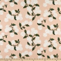 Cotton+Steel Rifle Paper Co. Hydrangea Blush