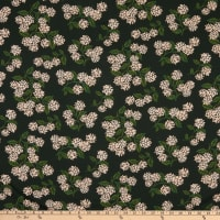 Cotton+Steel Rifle Paper Co. Stretch Jersey Knit Meadow Hydrangea Hunter