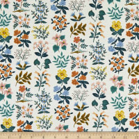 Cotton+Steel Rifle Paper Co. Lawn Meadow Wildflower Field Cream