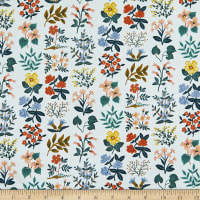 Cotton+Steel Rifle Paper Co. Lawn Meadow Wildflower Field Sky