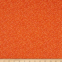 RJR Floret Geometric Conflorations Orange