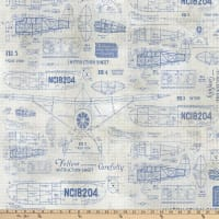 Tim Holtz Eclectic Elements Foundations Model Airplane Blue