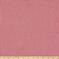 Contempo Warp & Weft Holiday Premium Y.D. Mini Gingham Peppermint
