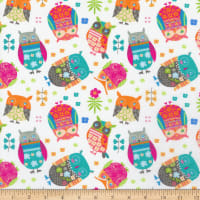 Contempo Awesome Owls Awesome Owls White/Multi