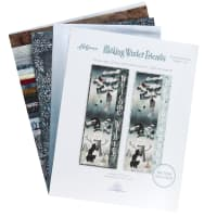 Hoffman Making Winter Friends Traditional Wall Hanging Kit Snow