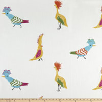 tfa Birds Of A Feather Embroidered Carnival