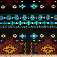 Shannon Minky Digital Cuddle Tapestry Teal