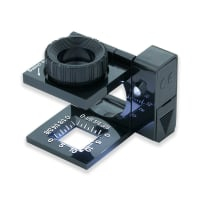 Carson LinenTest LED Lighted 11.5x Focusing Loupe