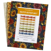 Maywood Studio Sweater Weather Quilt Kit By Kris Lammers Multi