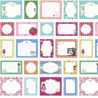 Handmade With Love Quilt Labels Pink