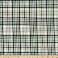 Northcott Frosted Forest Flannel Light Plaid Beige Multi