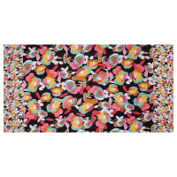 Fabtrends ITY Stretch Knit Floral Pink/Aqua