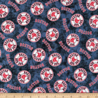 MLB Flannel Boston Red Sox Navy/Red
