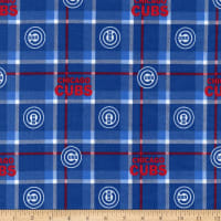 MLB Flannel Chicago Cubs Blue/Red