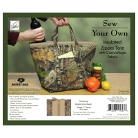 Insulated Zipper Tote Kit with Zippity-Do-Done - Break-up Country