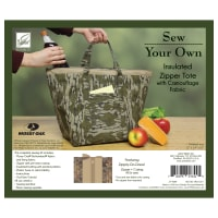 Insulated Zipper Tote Kit with Zippity-Do-Done - Bottomland
