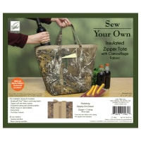 Insulated Zipper Tote Kit with Zippity-Do-Done - AP-XTRA