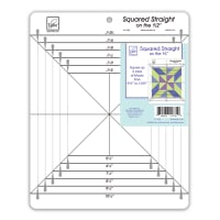 """June Tailor Squared Straight on the 1/2"""" Ruler"""
