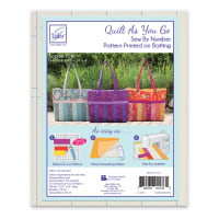 Quilt As You Go Tote Bag - Sophie - 1/pack