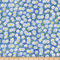 Fabric Traditions Daisy Delight IV Blue