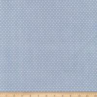 Chambray Shower Dots Blue