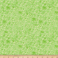 Timeless Treasures Digital Painted Paradise Painted Little Dots Grass