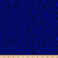 Timeless Treasures Digital Painted Paradise Painted Little Dots Navy