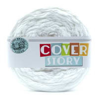 Lion Brand Cover Story Yarn Snow
