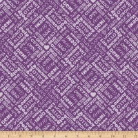 EXCLUSIVE Mister Domestic Love is Love Orientations Purple Fabric