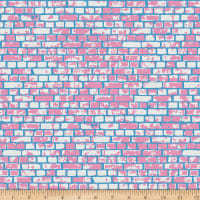 EXCLUSIVE Mister Domestic Love is Love Stonewall Pink/Blue Fabric