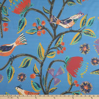 Lacefield Designs Birds of Paradise Sateen Curacao