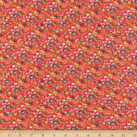 Windham Fabrics Farm Meadow Tiny Floral Red
