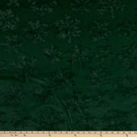 Shannon Minky Luxe Cuddle Snowflake Evergreen