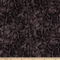 Fabtrends ITY Animal Skin Black/Mauve Pink/Dusty Taupe