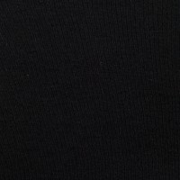 Telio Organic Cotton Interlock Stretch Knit Black