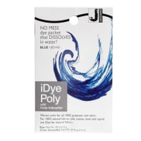 Jacquard iDye Poly Synthetic Fiber Fabric Dye Blue