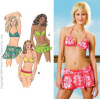 Kwik Sew Swimsuit and Wrap Pattern