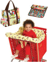 Kwik Sew Shopping Cart Seat Cover & Diaper Bag with Changing Pad Sewing Pattern