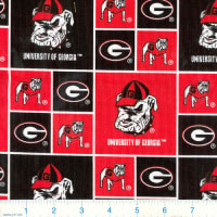 NCAA Georgia Bulldogs Broadcloth