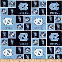 NCAA North Carolina Tar Heels Broadcloth Collegiate
