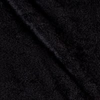 Shannon Minky Cuddle Fleece Black