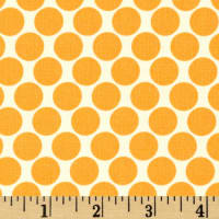 Amy Butler Lotus Full Moon Polka Dot Tangerine