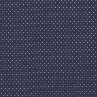 Pin Dot Navy Blue