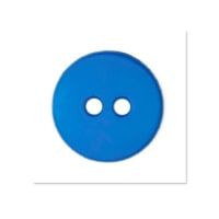 Colors by Favorite Findings 5/8'' Buttons 20/Pack Electric Blue