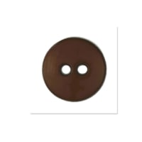 Colors by Favorite Findings 5/8'' Buttons 20/Pack Brown