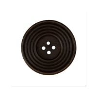 Organic Elements Wood Button 1 1/4'' Brown