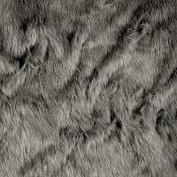 Shannon Faux Fur Luxury Shag Fur Gray