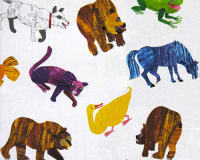 Brown Bear Brown Bear Painted Animals Multi